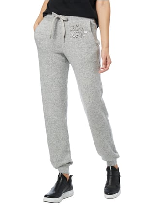 Princess Goes Hollywood Sweatpants in Melangeoptik Mittelgrau - 1