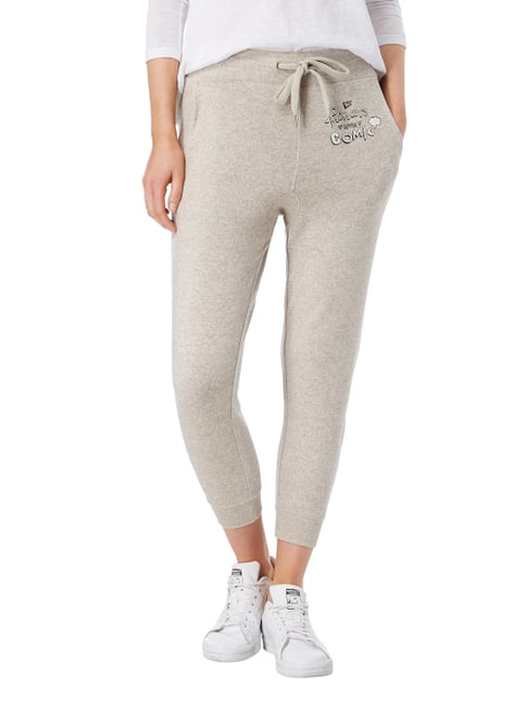 Princess Goes Hollywood Sweatpants mit Logo-Print Beige - 1