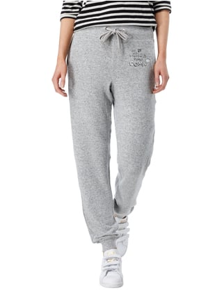 Princess Goes Hollywood Sweatpants mit Logo-Print Hellgrau - 1