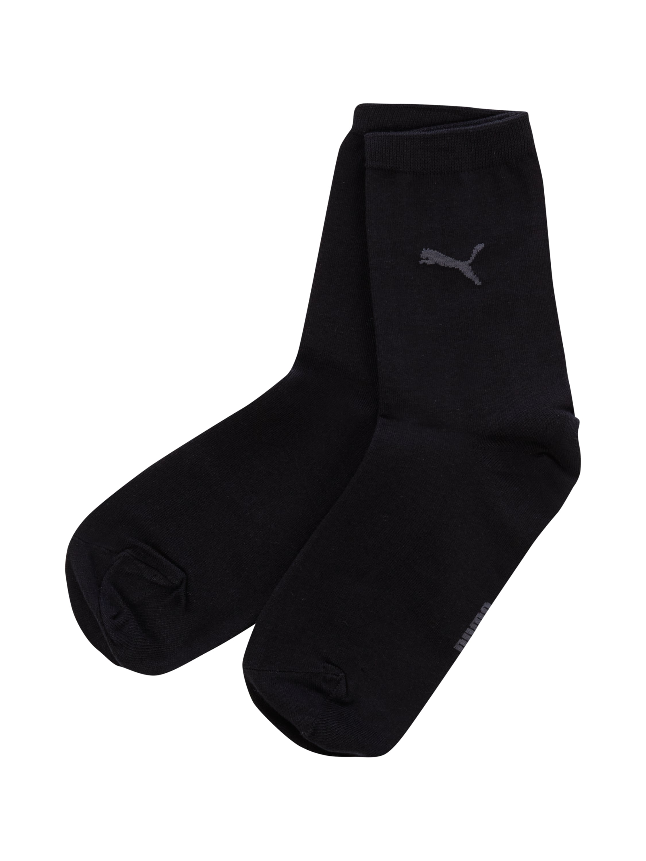 puma socken im 2er pack in grau schwarz online kaufen. Black Bedroom Furniture Sets. Home Design Ideas
