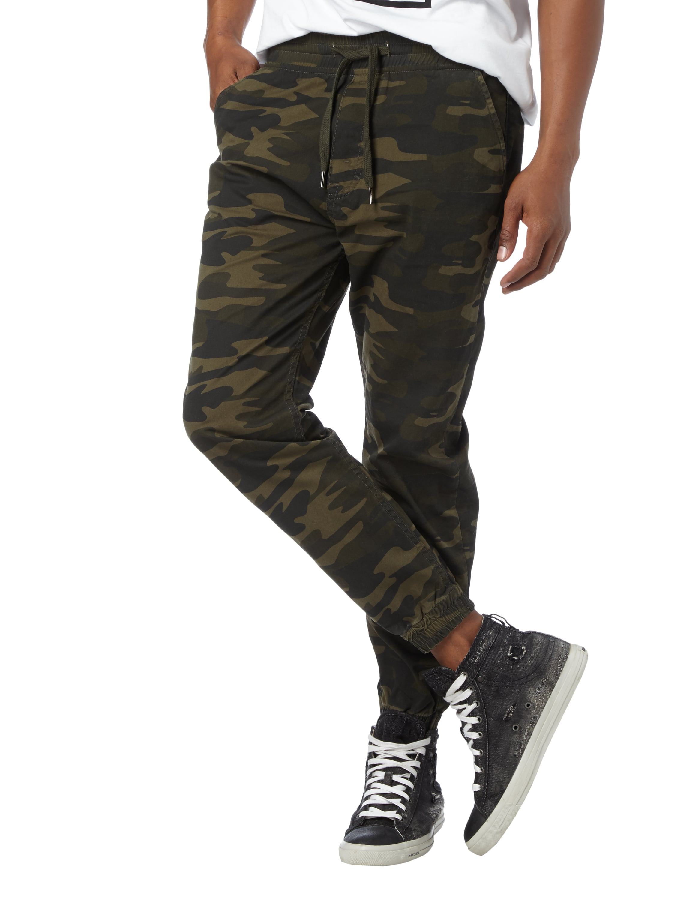 Camouflage and Jogpants