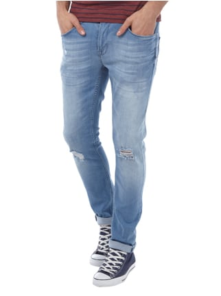 Redefined Rebel Skinny Fit Jeans im Destroyed Look Jeans - 1