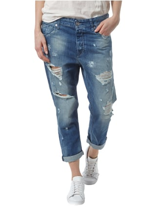 Replay Boy Fit Jeans im Destroyed Look Jeans - 1