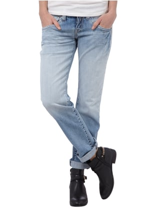 Replay Boyfriend Jeans im Used Look Jeans - 1