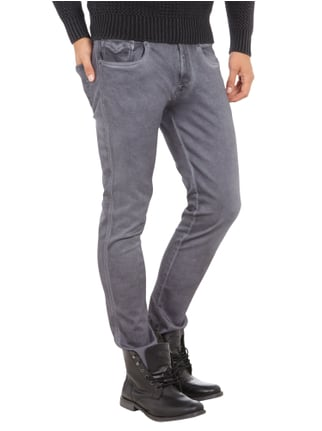 Replay Coloured 5-Pocket-Jeans Mittelgrau - 1