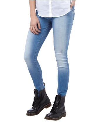 Replay Skinny Fit Stone Washed Jeans mit Used Effekten Jeans - 1