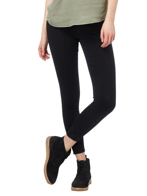 REVIEW Coloured Skinny Fit High Waist Jeans Schwarz - 1