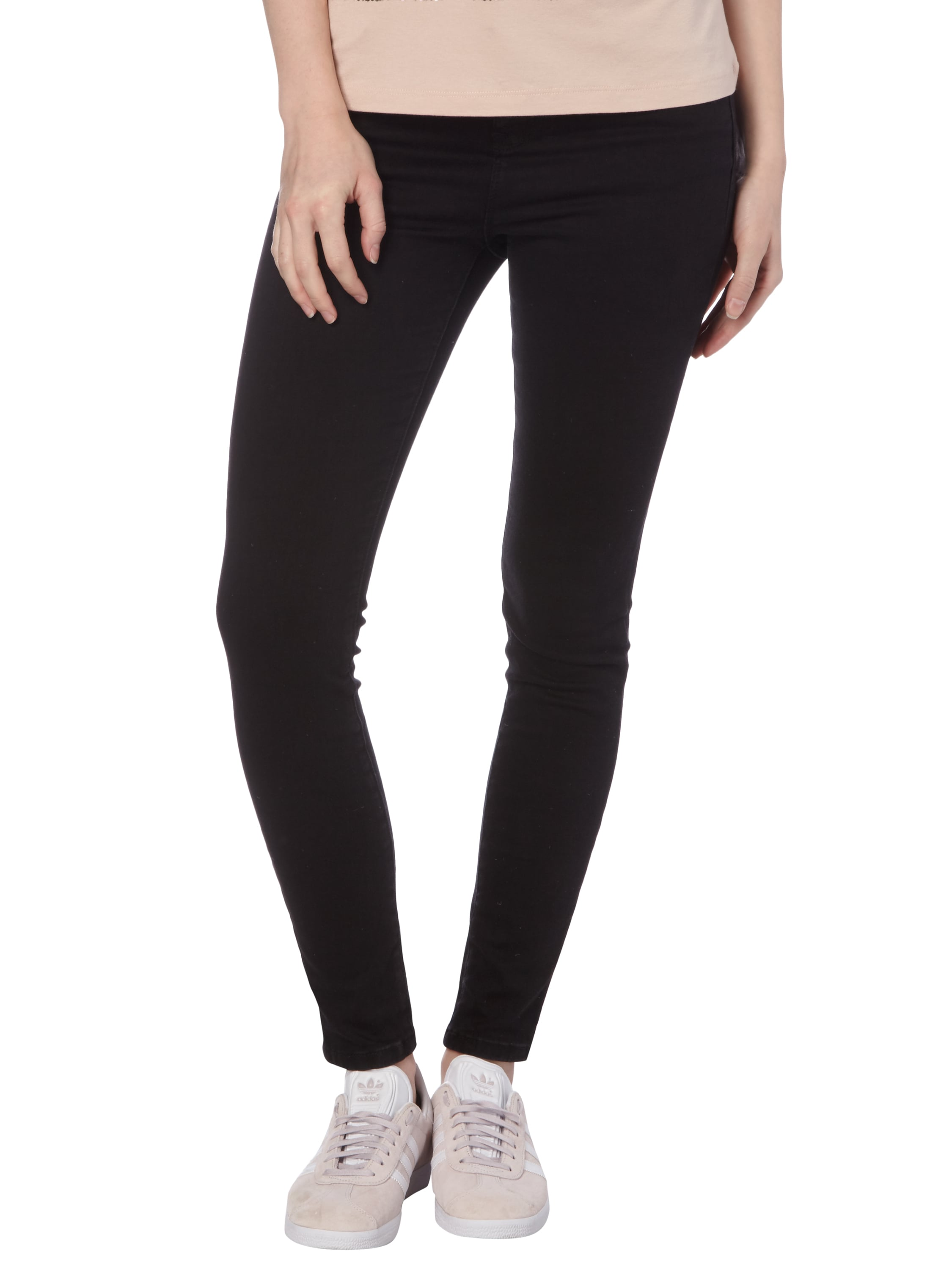 review coloured skinny high waist fit jeans in grau schwarz online kaufen 9561795 p c. Black Bedroom Furniture Sets. Home Design Ideas