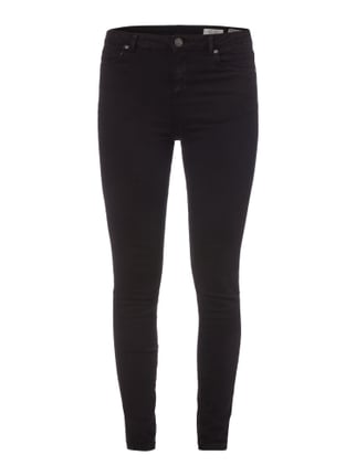Coloured Skinny High Waist Fit Jeans Grau / Schwarz - 1