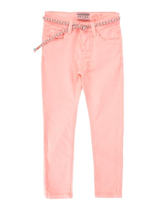 Coloured Slim Fit Jeans Rosé - 1