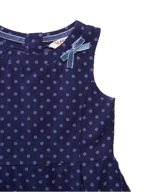 Cordkleid mit Punkte-Print Review for Kids online kaufen - 1