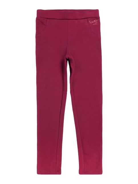 Leggings mit Stretch-Anteil Rot - 1