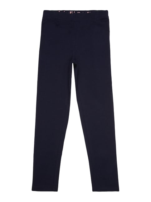 Leggings mit Stretch-Anteil Blau / Türkis - 1