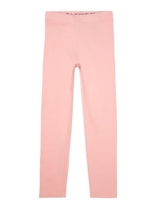 Leggings mit Stretch-Anteil Rosé - 1