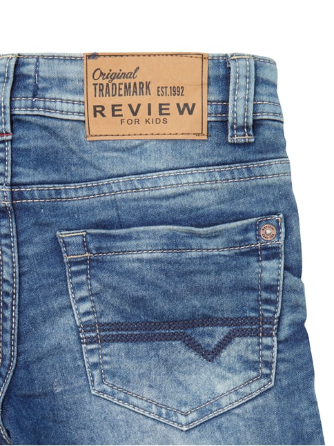 Regular Fit Stone Washed 5-Pocket-Jeans Review for Kids online kaufen - 1
