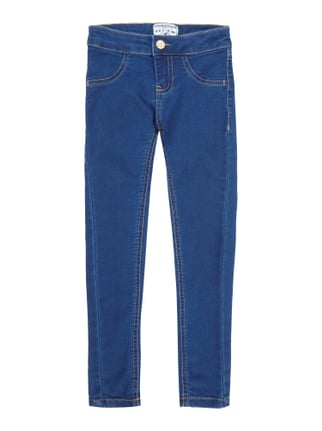 Rinsed Washed Jogjeans Blau / Türkis - 1
