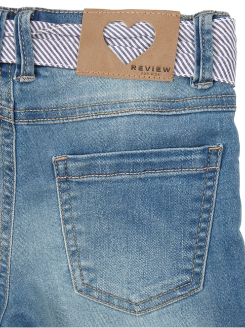 Stone Washed Jeansbermudas Review for Kids online kaufen - 1