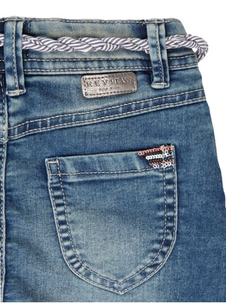 Stone Washed Jeansrock inklusive Gürtel Review for Kids online kaufen - 1
