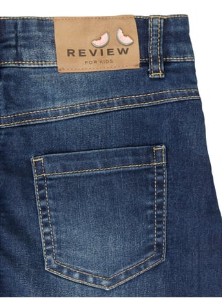 Stone Washed Jeansrock mit Stretch-Anteil Review for Kids online kaufen - 1