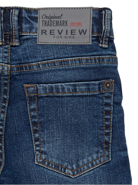 Stone Washed Regular Fit 5-Pocket-Jeans Review for Kids online kaufen - 1
