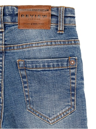 Stone Washed Slim Fit 5-Pocket-Jeans Review for Kids online kaufen - 1