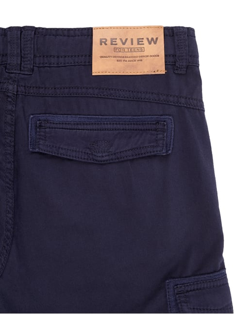 Bermudas aus reiner Baumwolle Review for Teens online kaufen - 1
