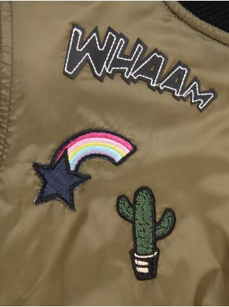 Bomber mit Patches Review for Teens online kaufen - 1