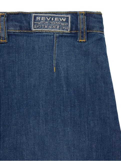 Jeansrock mit Knopfleiste Review for Teens online kaufen - 1