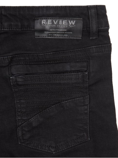 Jeansshorts im Destroyed Look Review for Teens online kaufen - 1