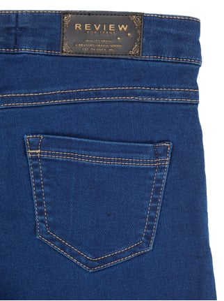 Rinsed Washed Skinny Fit Jogjeans Review for Teens online kaufen - 1