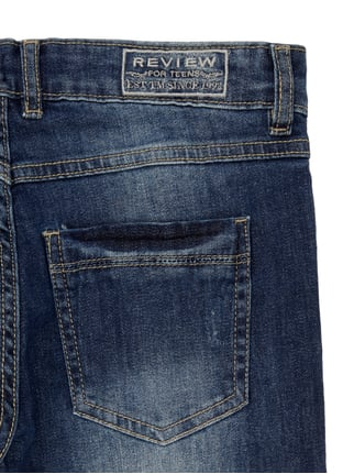 Stone Washed Regular Fit 5-Pocket-Jeans Review for Teens online kaufen - 1