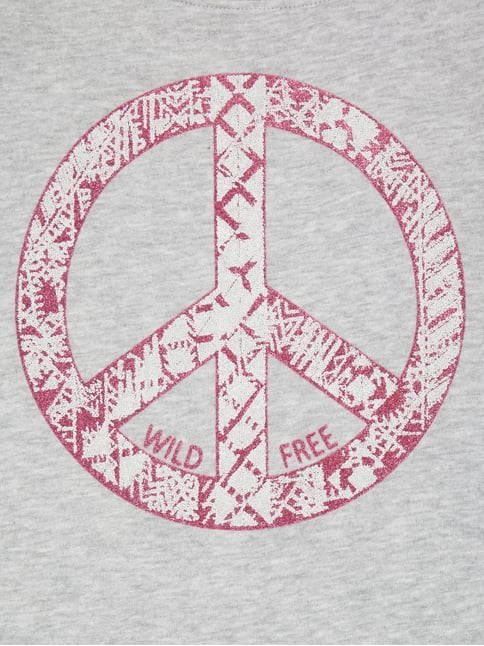 Sweatshirt mit Peace-Print Review for Teens online kaufen - 1