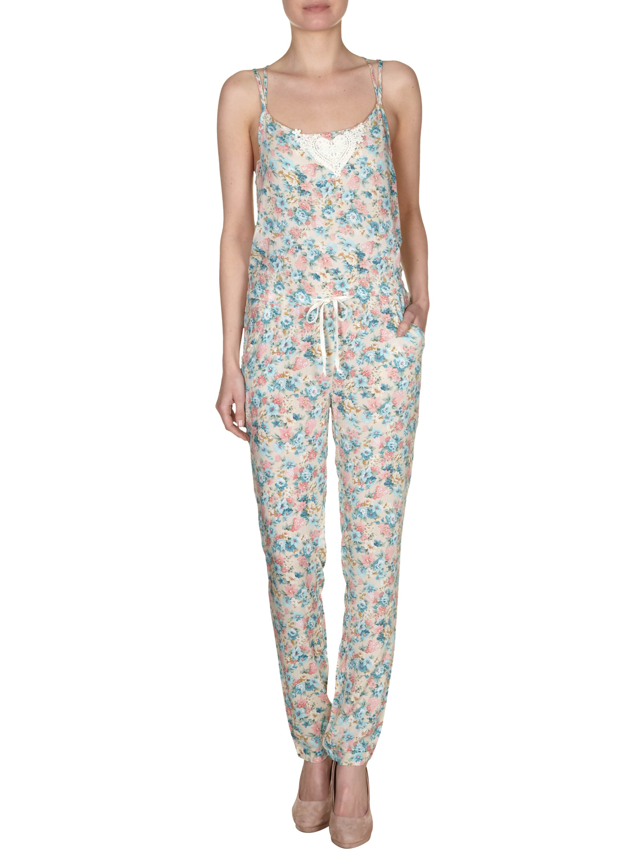 jumpsuit mit blumen muster fashion id online shop. Black Bedroom Furniture Sets. Home Design Ideas