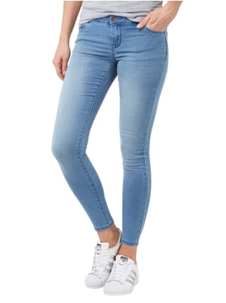 REVIEW Skinny Fit 5-Pocket-Jeans Hellblau - 1