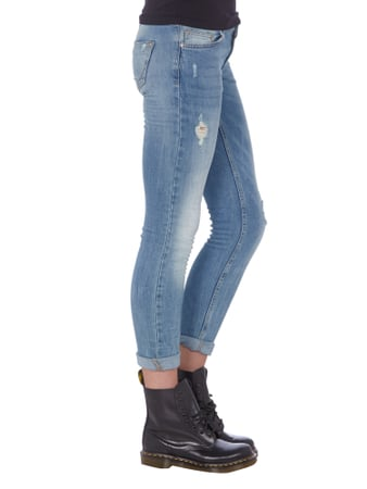 Slim Fit 5-Pocket-Jeans im Used Look REVIEW online kaufen - 2