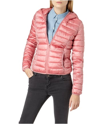REVIEW Steppjacke mit Kapuze - wattiert Hellrosa - 1