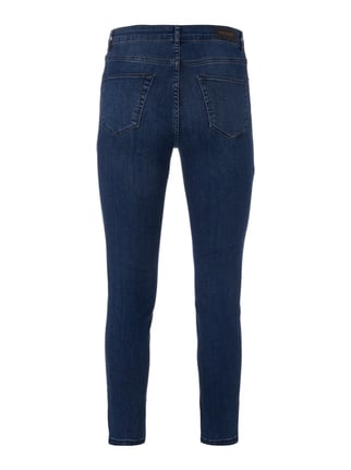 REVIEW Stone Washed Skinny Fit Jeans Dunkelblau - 1