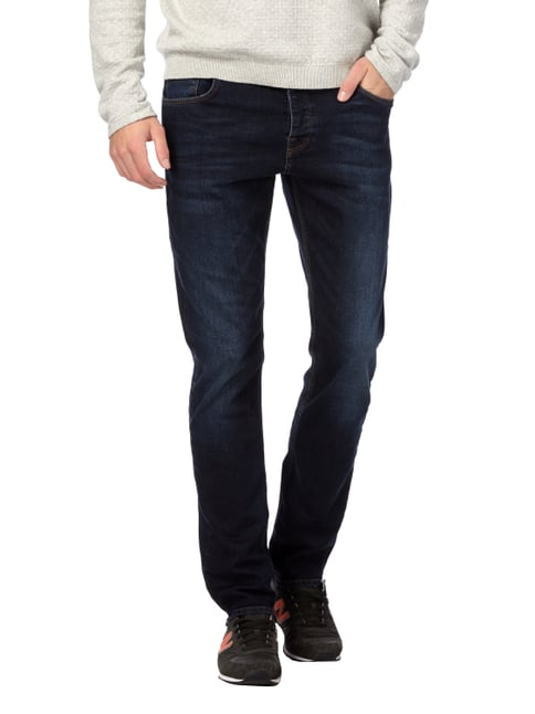 REVIEW Stone Washed Slim Fit 5-Pocket-Jeans Jeans - 1