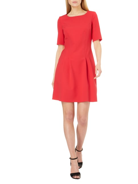 s.Oliver BLACK LABEL Kleid mit 1/2-Arm in Rot - 1