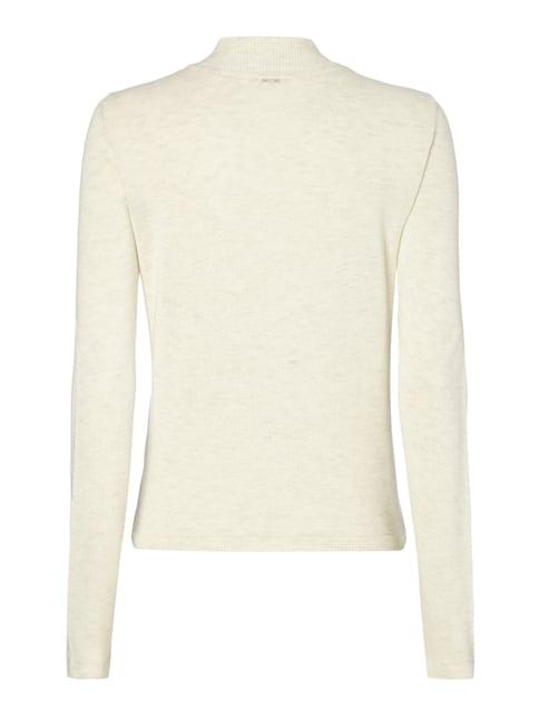s.Oliver RED LABEL Cardigan aus Viskose-Baumwoll-Mix Offwhite - 1