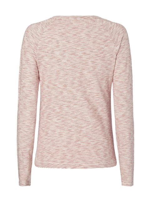 s.Oliver RED LABEL Longsleeve mit Streifenmuster Rot - 1