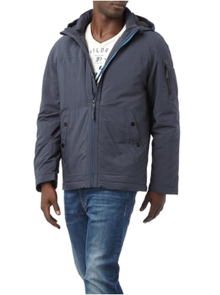 s.Oliver RED LABEL Regenjacke mit Wattierung Marineblau - 1