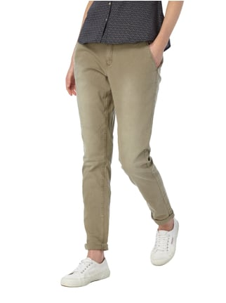 s.Oliver RED LABEL Regular Fit Chino mit Gürtel Olivgrün - 1