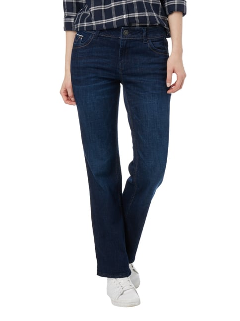 s.Oliver RED LABEL Stone Washed Boot Cut Jeans mit Kontrastnähten Jeans - 1