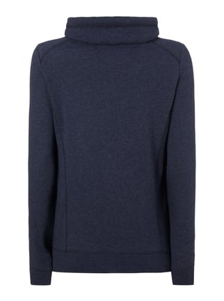 s.Oliver RED LABEL Sweatshirt mit Tube Collar Marineblau - 1