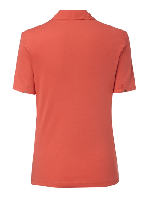 s.Oliver RED LABEL T-Shirt mit Umlegekragen Rot - 1