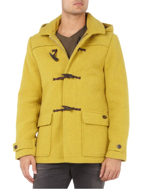 Scotch & Soda Dufflecoat aus Woll-Mix Gelb - 1