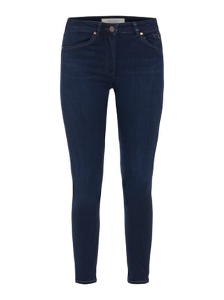 Light Stone Washed Skinny Fit Jeans Blau / Türkis - 1