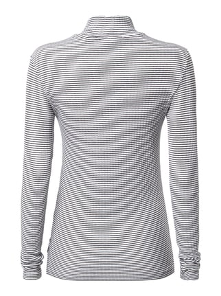 Maison Scotch Longsleeve mit Turtleneck Offwhite - 1