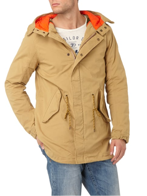 Scotch & Soda Parka mit Kapuze Beige - 1